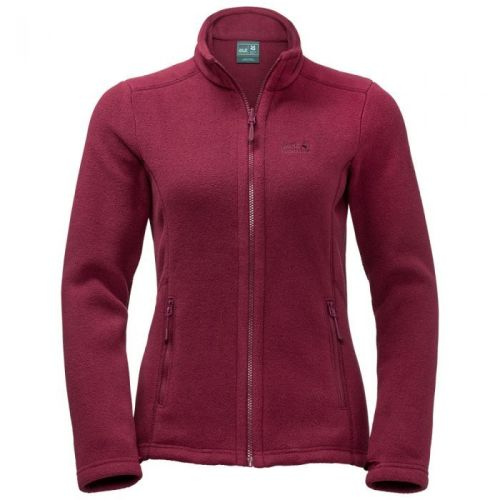 National Trust Jack Wolfskin Women's Gibside Fleece Jacket, Rhododendron