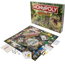 Museum Monopoly Dinosaurs game