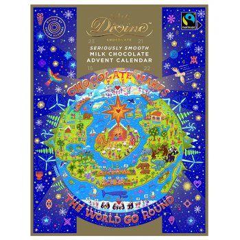 Divine Milk Chocolate Advent Calendar - 85G