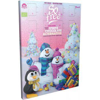 Plamil so Free Organic White Chocolate Alternative Advent Calendar - 100G