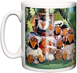 IIE, Classic British TV Show The Wombles Ceramic Coffee or Tea Mug