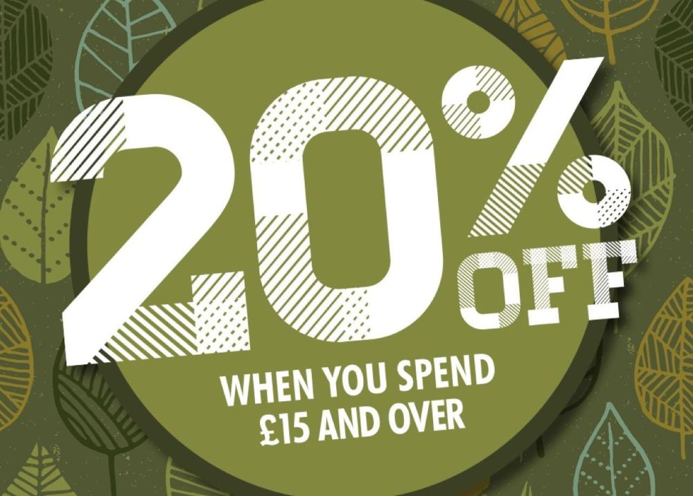 20% off at the CalendarClub.co.uk when you spend £15 and over!