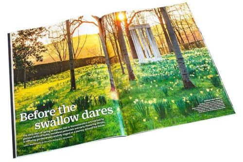 Members receive The Garden magazine every month - worth £4.95 in itself!