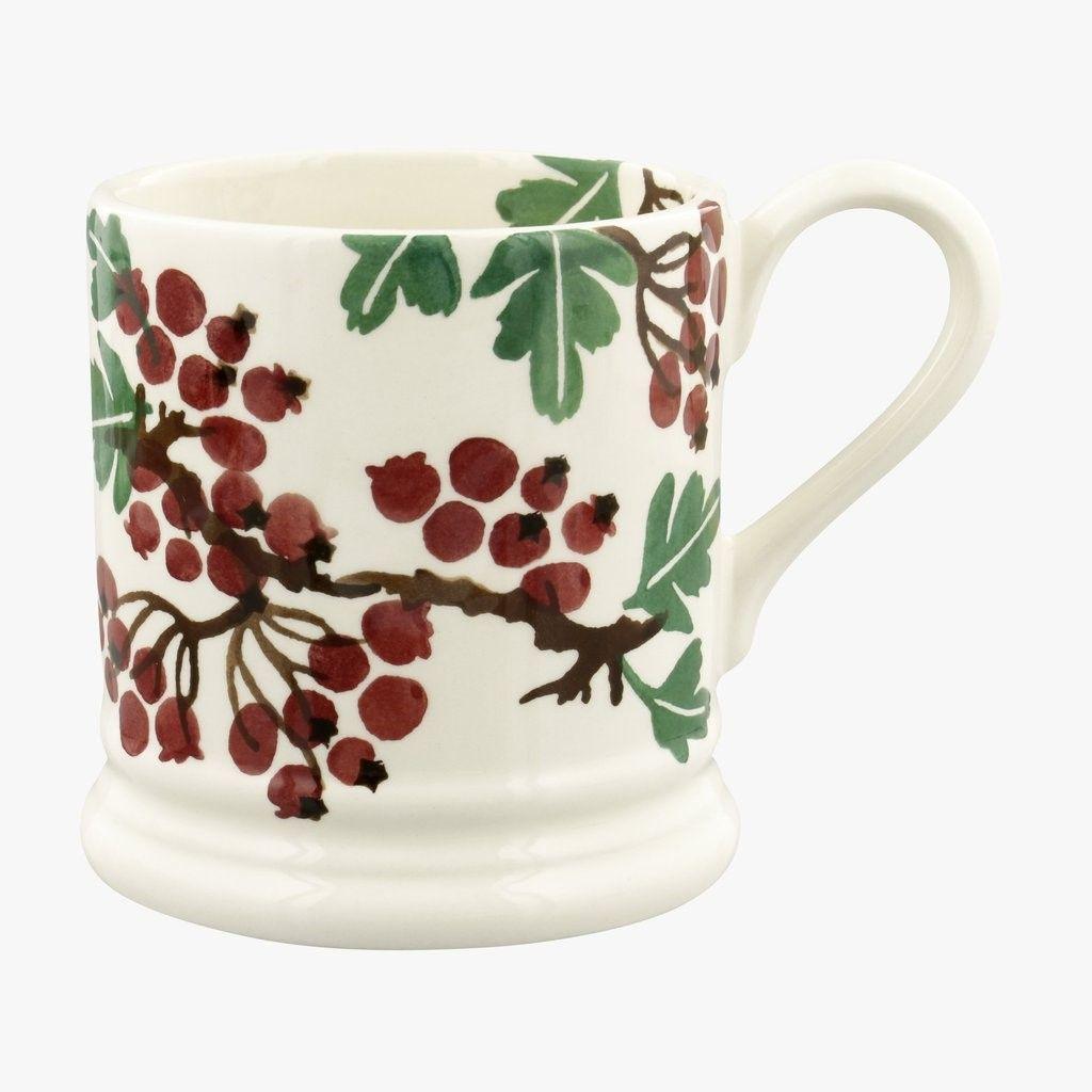 Hawthorn Berries 1/2 Pint Mug