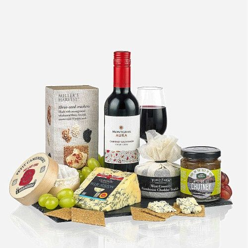 The Wine and Cheese Slate, full of goodies!