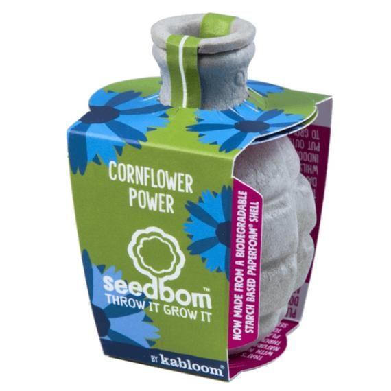 Cornflower Power Seedbom Gift