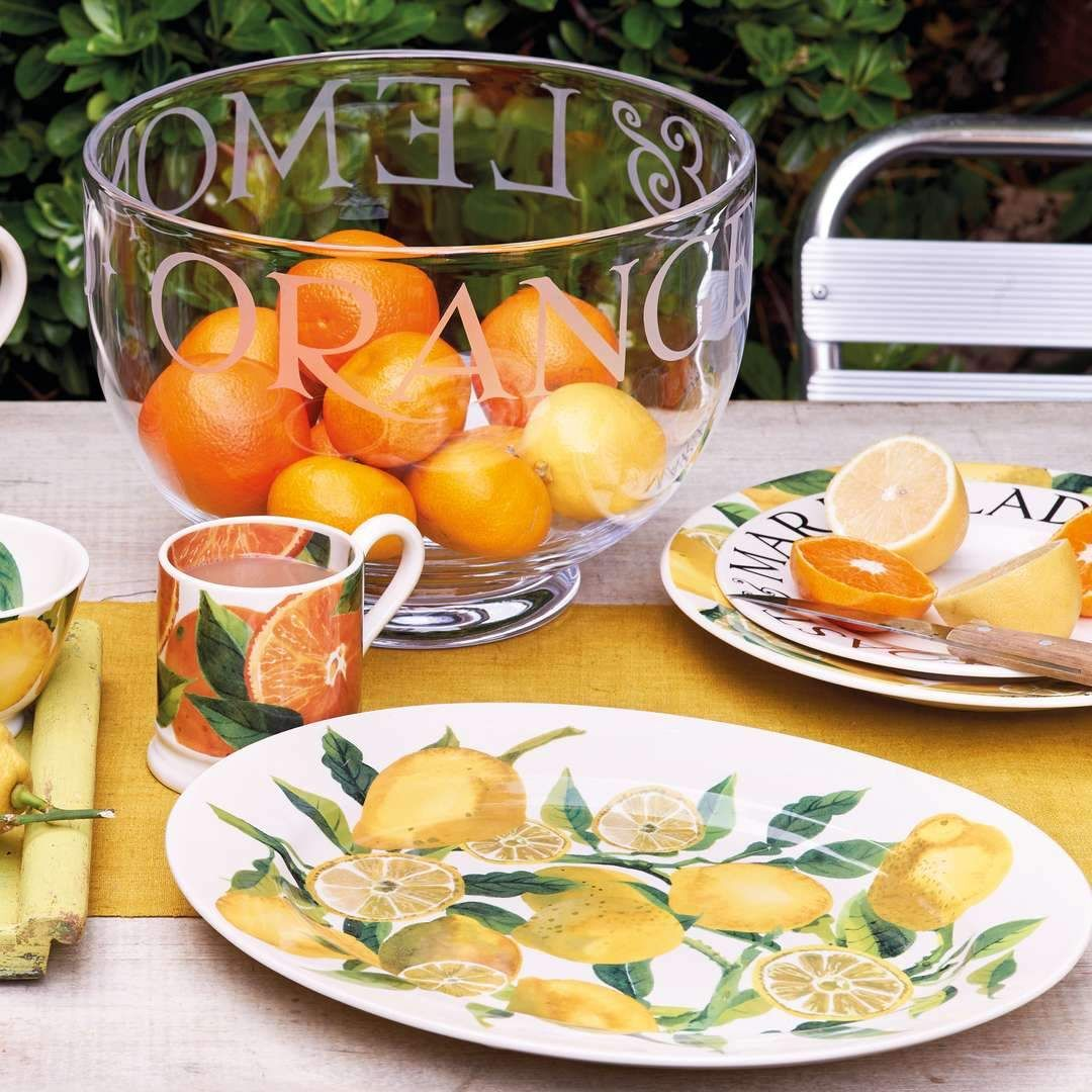 Oranges and lemons feature in Emma Bridgewater's Vegetable Garden collection