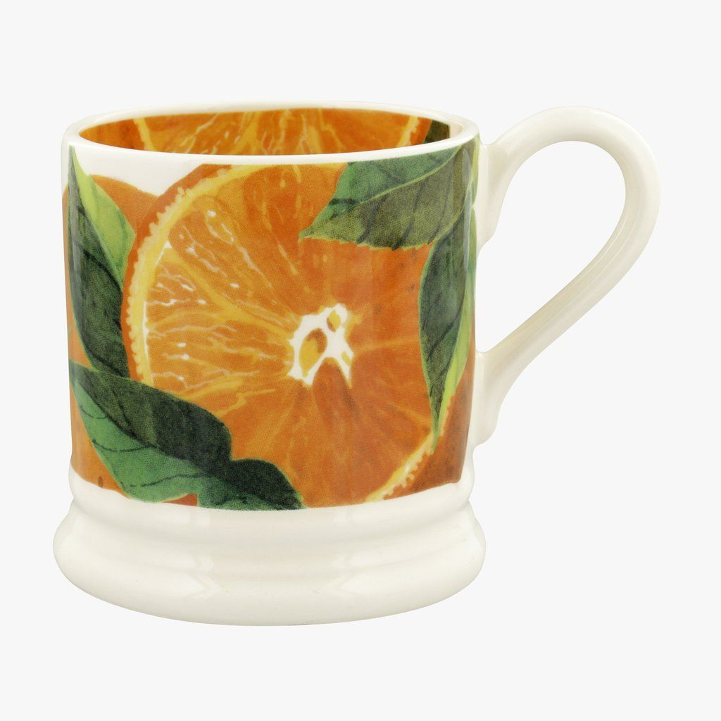 Vegetable Garden Oranges 1/2 Pint Mug