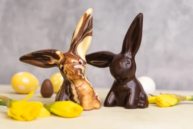 This chocolate bunny is also available from Coco Loco