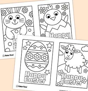 There are free printables you can download for kids to colour in - you could decorate your home or a classroom!