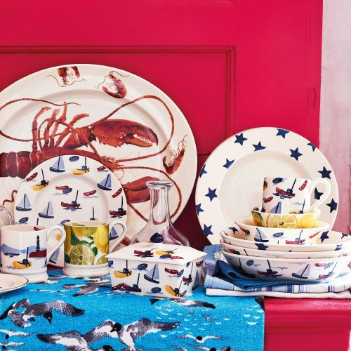 Take a look at the River and Shoreline Collection from Emma Bridgewater ere