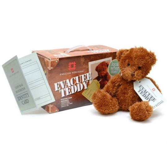 And this is Cuddly Evacuee Bear who needs a home!