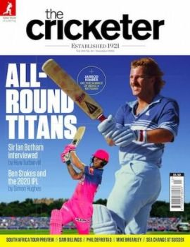 You could give a gift subscription to a cricket magazine such as The Cricketer