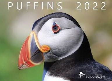 Michael MacGregor Puffins Calendar 2022 is available from the CalendarClub.co.uk