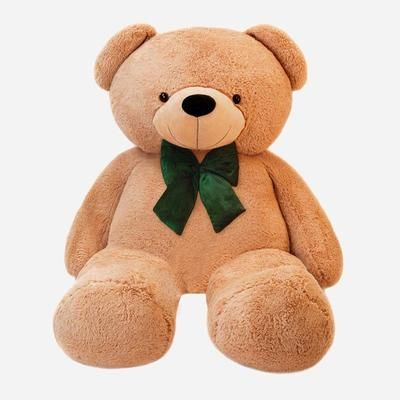 You can add a velvet bow to your teddy bear