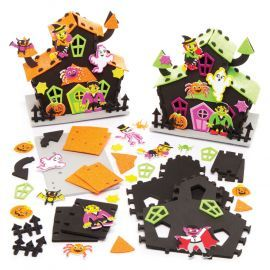 And there are Haunted House kits to assemble.