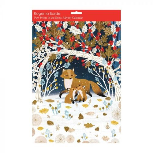 This Paw Prints in the Snow Advent Calendar is from the Natural History Museum