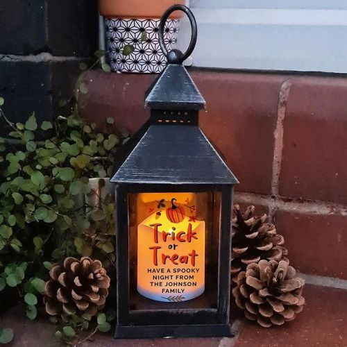 Getting Personal have this Personalised Trick or Treat Lantern