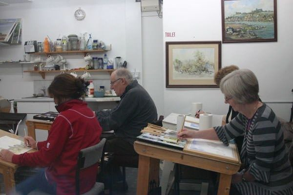 BuyaGift have lots of arts and crafts experiences to choose from, including a Watercolour Painting Workshop in Derbyshire