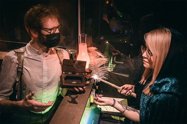 Wand Making Experience for One at Wands and Wizard Exploratorium