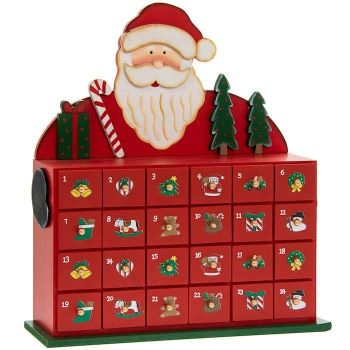 Fill the drawers of your advent calendar with treats to tuck into each day!