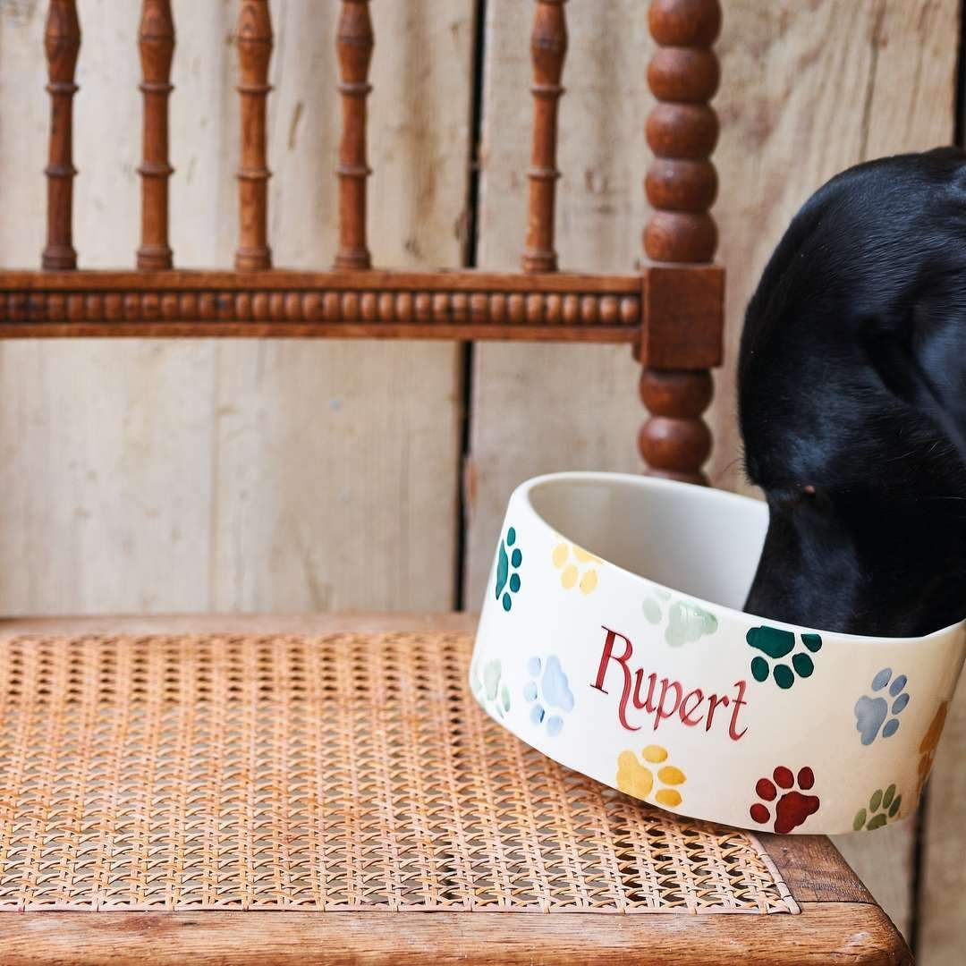 Or how about a personalised pet bowl for your pet to enjoy a drink