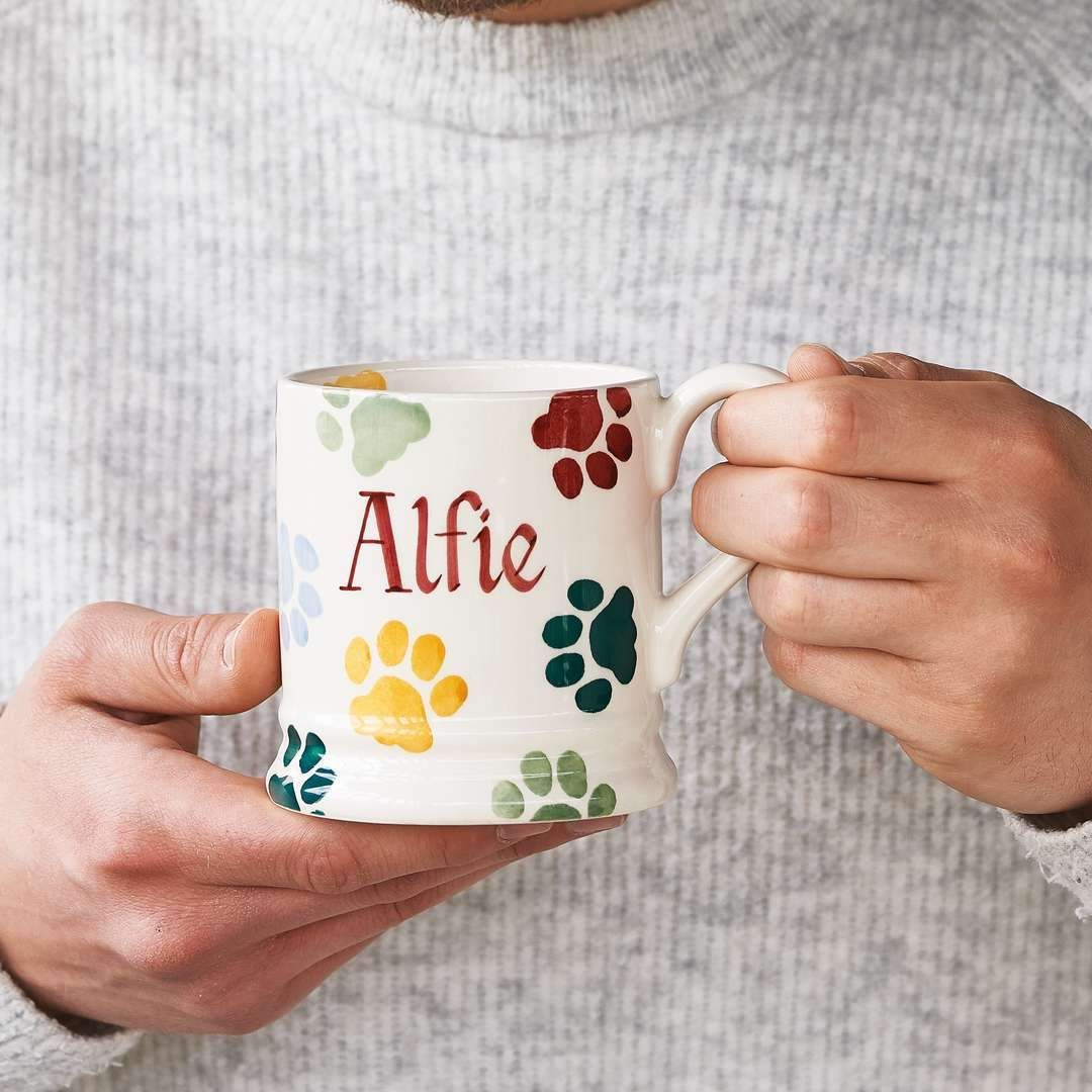 You can personalise the polka paws mugs, perhaps with the pet's name