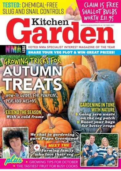 Kitchen Garden will help you make the most of your garden, with lots of tips to help you grown your own fruit and veg!