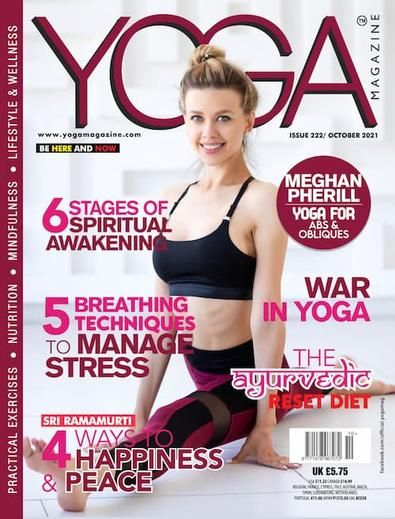 Yoga magazine will help you achieve greater balance, wellbeing and health