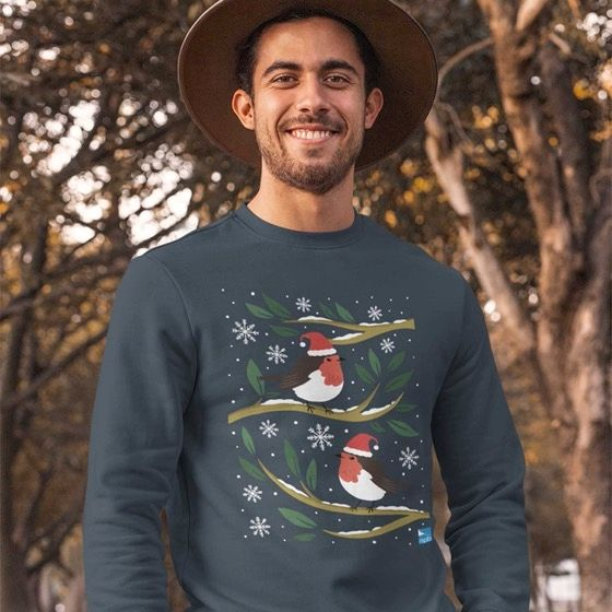 Support nature conservation when you get your Christmas jumper from the RSPB shop