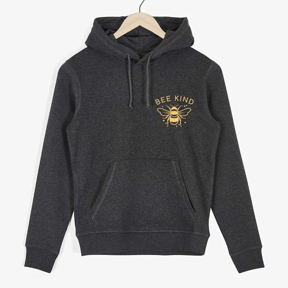 This is the Bee Kind Organic Cotton Hoodie