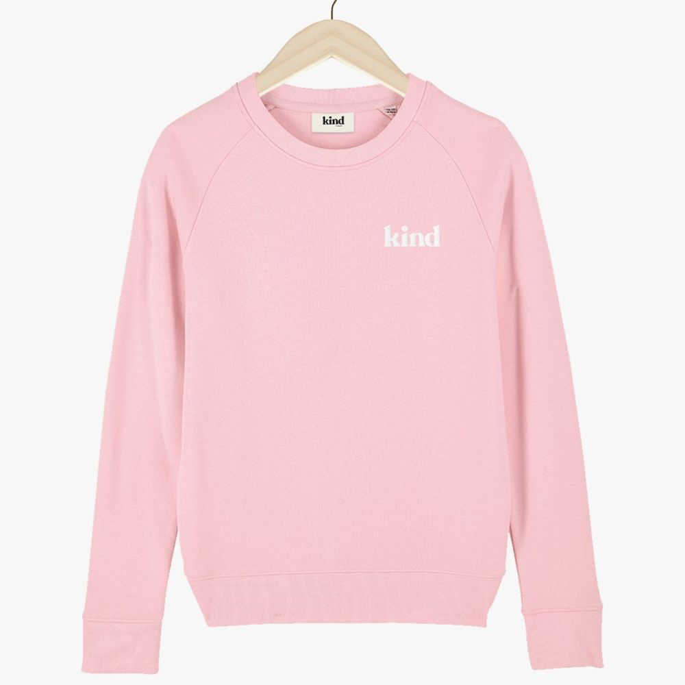 This is the Kind Embroidered Organic Sweatshirt