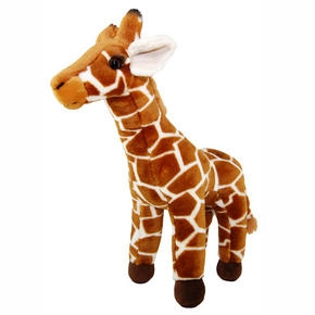 ZSL Plush Lifelike Giraffe from ZSL London Zoo
