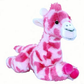 ZSL Plush Pink Giraffe from ZSL London Zoo