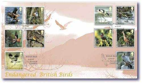 Buckingham Covers Endangered British Birds