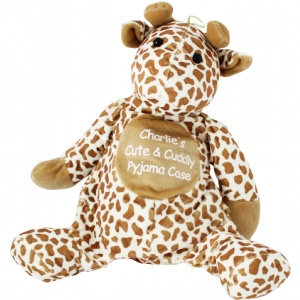 Personalised Giraffe Pyjama Case