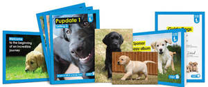 Sponsor a puppy as a Gift from £1 a week