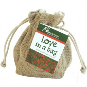 Love in a Bag 	 Native Wildflower Seed Gift Bag