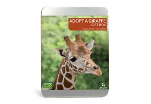 Adopt a giraffe with Buy a Gift