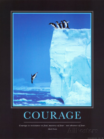 """You can buy """"Courage"""" from Allposters.co.uk"""
