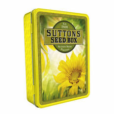 Seed Box & 4 Packs of Sunflower Seeds