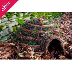 Give a garden lover this Igloo Hedgehog House - a gift for your loved one and hedgehogs!