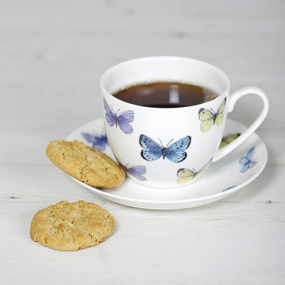 Cup & Saucer, Dee Hardwicke butterfly from the National Trust Online Shop