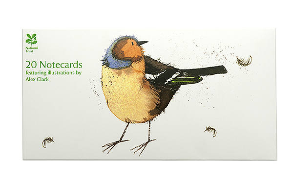 Notecards, Birds of a Feather by Alex Clark from the National Trust Online Shop