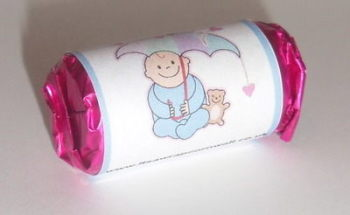 BLUE BABY SHOWER - love hearts (2 sizes)