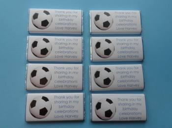 FOOTBALLS - large chocolate bar 40g