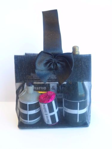 CORNISH FLAG RIBBON BAG DELUXE FILLED FAVOUR