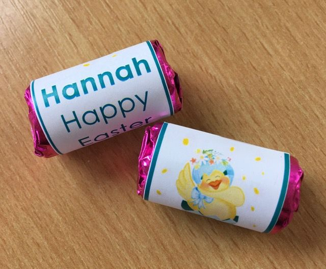 HAPPY CHICK mini rolls love hearts
