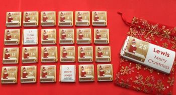 ELF ON THE SHELF ADVENT (mini chocs, love hearts or mixed)