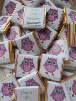 TWIT TWOO - mini 4.5g chocolate favour